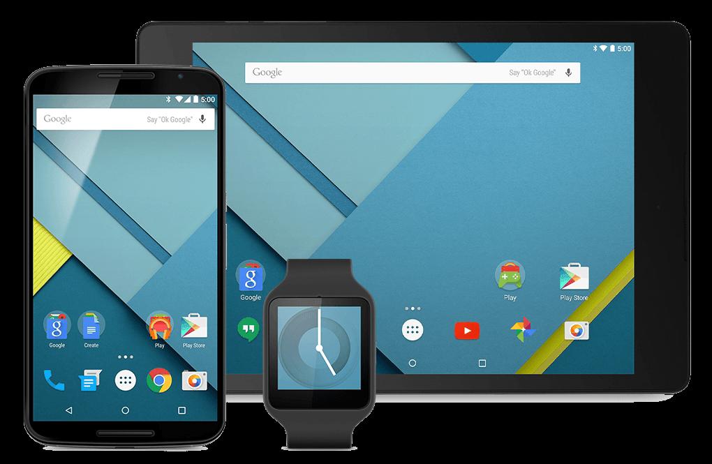 nuevo en android lollipop 5.0
