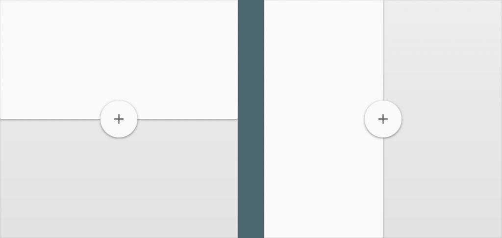 principios layouts material design