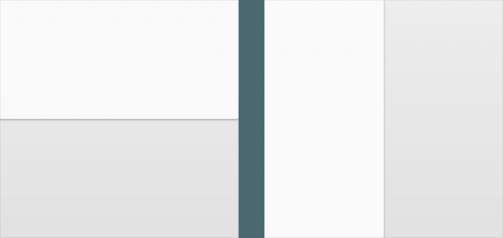 principios layout layouts material design