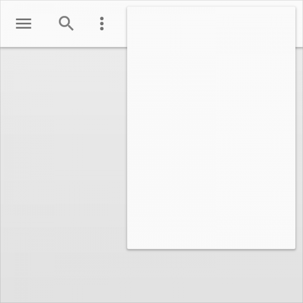 layout principios material design
