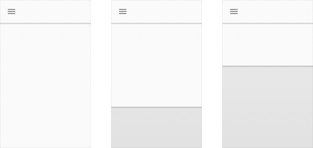 principios layout material design layouts