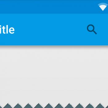 layouts toolbar estructura material design añadir botones de acción