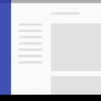 estructura layouts material design