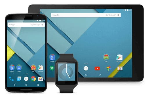 nexus devices material design
