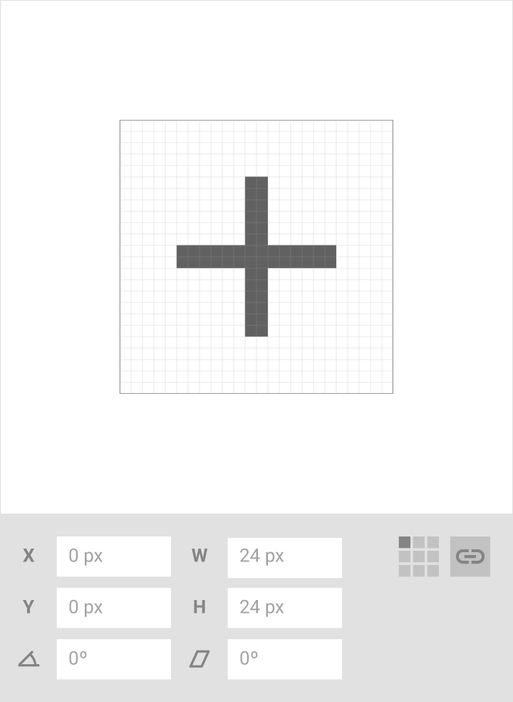 icon system material design