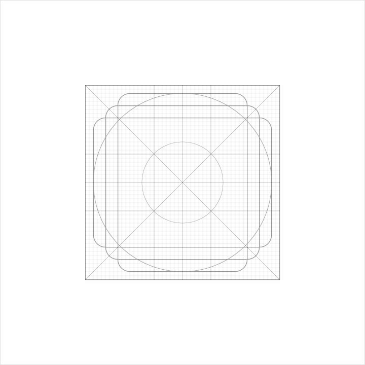 grid icon material design
