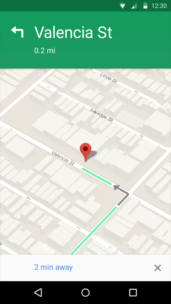 maps material design dynamic