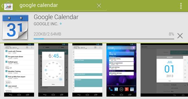 progreso y actividad android