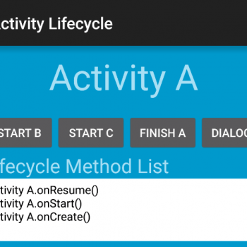 Gestionar el Ciclo de Vida de una Actividad