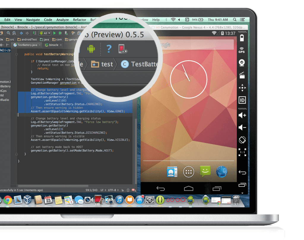 genymotion en android studio